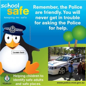 School Safe - Help kids identify safe adults and safe places