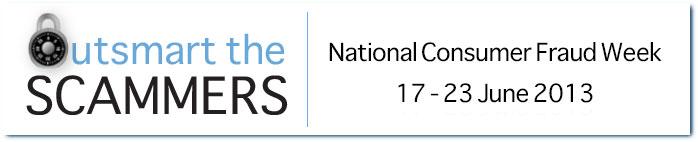 National Consumer Fraud Week 2013