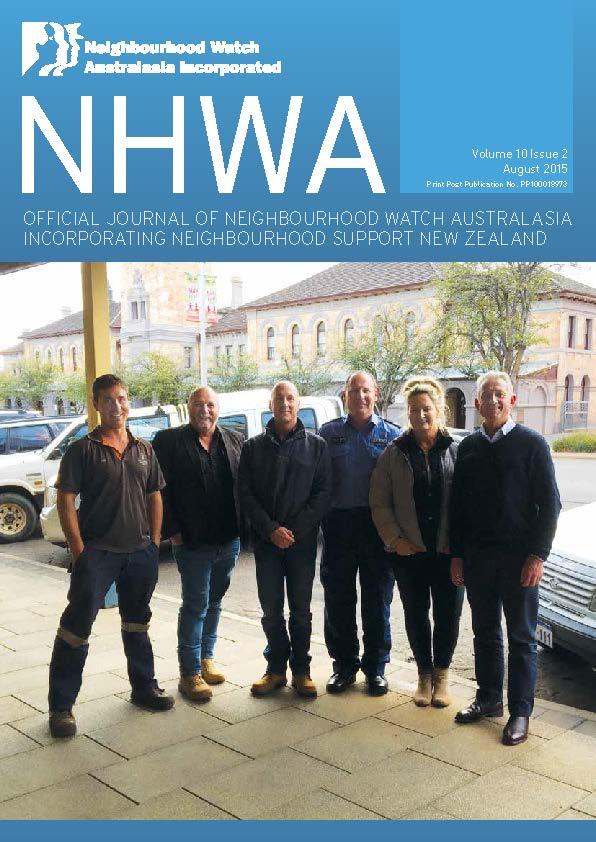 NHWA August 2015 Journal