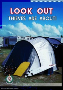 Look Out. Thieves Are About.