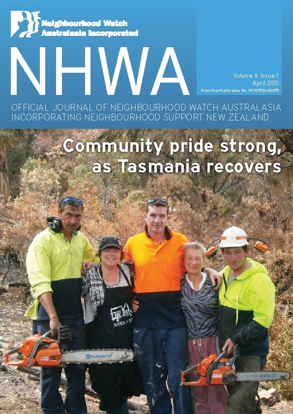 NHWA April 2013 - Issue 1
