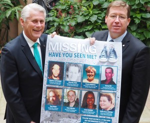 Tweed Heads Geoff Provest MP and Deputy Premier and Minister for Justice and Police Troy Grant MP