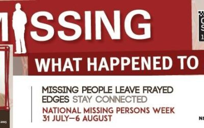 National Missing Persons Week 2016